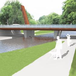 UPPSALA SYD | Byggstart för öppningsbar bro över Fyrisån