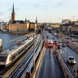 STOCKHOLM | Påskens arbeten på Getingmidjan påverkar tågtrafiken