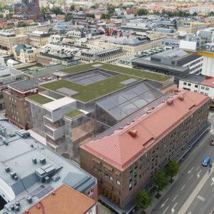 CITY | Ny detaljplan för affärer, kontor och stadsliv i kv. Sala