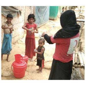 SOLIDARITET | Svenska Röda Korset ökar insatserna mot covid-19 i världens största flyktingläger