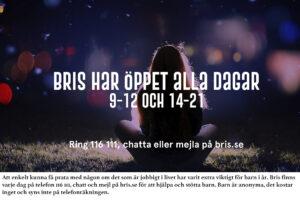 BARN | En annorlunda jul 2020 men Bris finns där för dig