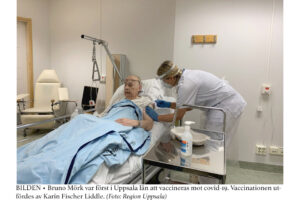 GODA NYHETER | Covid-19-vaccinationerna inleddes i Uppsala län