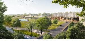 FYRISHOV | Så här ser vinnarbidraget Norra Stadsparken ut