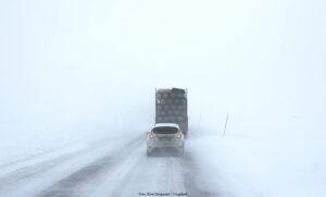 TRAFIKVERKET: Håll avståndet i jul – även på vägarna