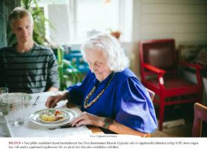SENIOR | Mat och måltidssituationen inom Uppsala kommuns verksamheter för äldre ska bli bättre