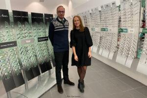 NÄRINGSLIVSNYTT | Optikerbutik i ny kostym