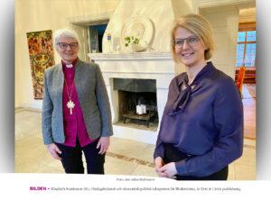 PODCAST | Riksdagsledamot först ut i ärkebiskopens podcast