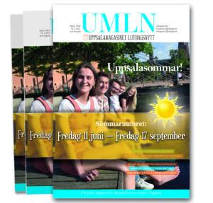 NYTT NUMMER: På fredag kommer sommarnumret av UMLN!